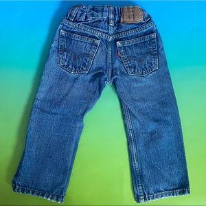 Levi's Toddler (2T) Straight Leg Jeans